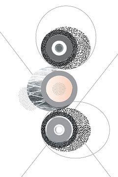 Elegant ontwerp nr. 3 | Zilver van Melanie Viola