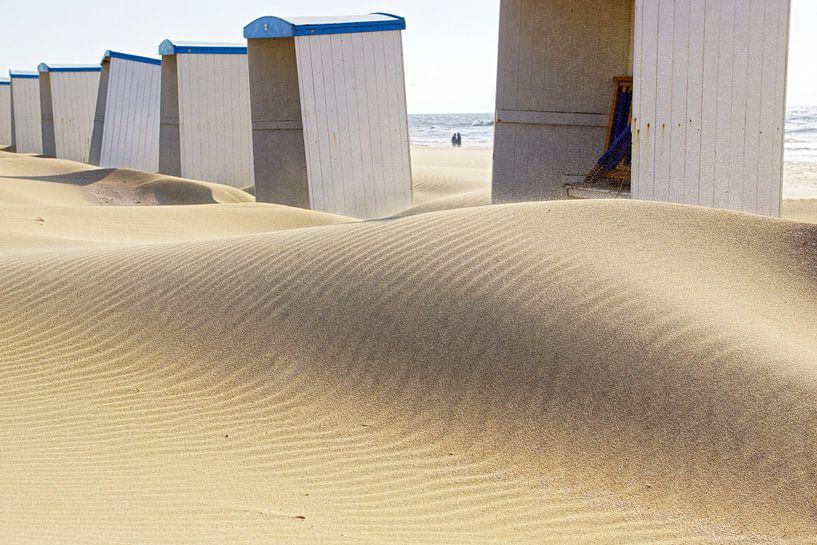 beach cabins van Dirk van Egmond