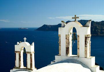 Zomers Santorini Griekenland van
