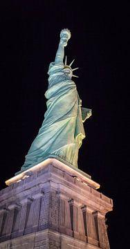 Het vrijheidsbeeld in Las Vegas van Rietje Bulthuis
