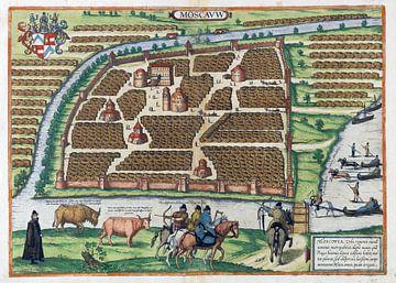 Moskou, 1575 van Atelier Liesjes
