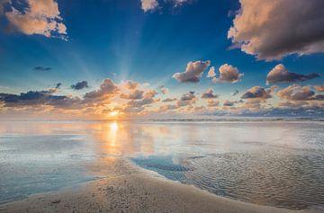 Klassischer Sonnenuntergang von Jurjen Veerman