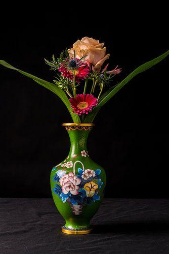 Bloemen Stilleven. Fotografie van