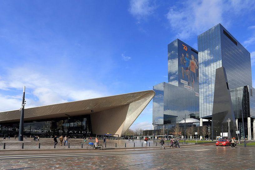 Centraal Station Rotterdam van Antwan Janssen