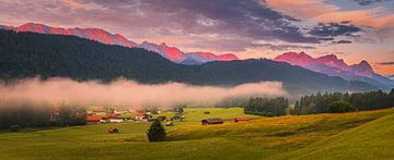 Panorama Beierse Alpen