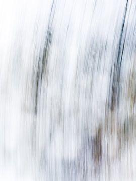 Striped   Modern abstract digitaal kunstwerk