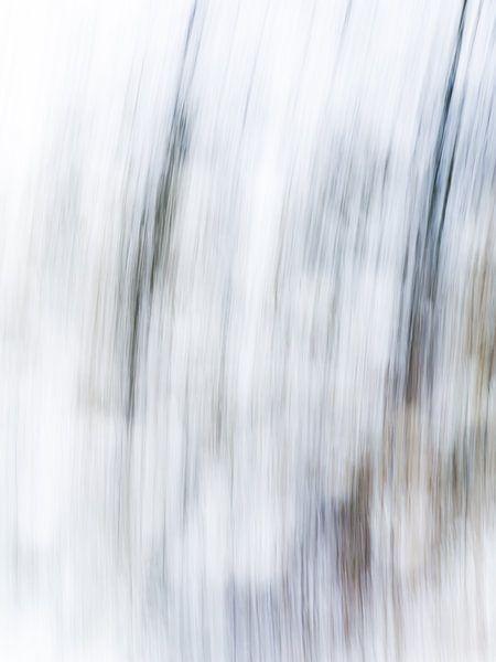 Striped | Modern abstract digitaal kunstwerk van Henriëtte Mosselman