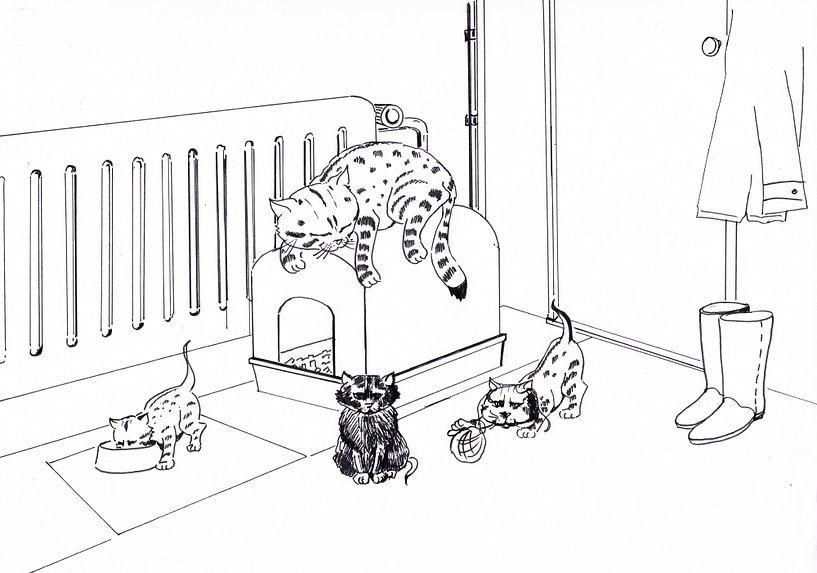 Kattenpaleis von Sasha Butter-van Grootveld