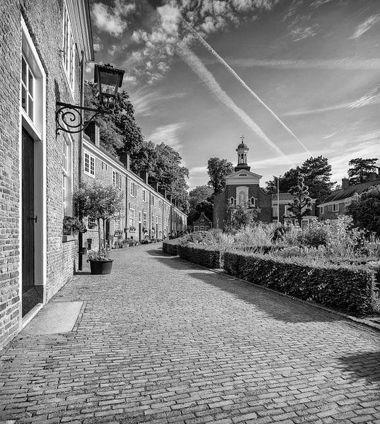 Begijnhof Breda Zwart Wit van JPWFoto