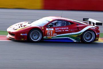 Ferrari sur la bonne voie Spa Francorchamps sur