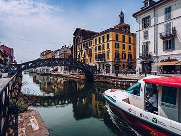 Mailand - Naviglio Grande von Alexander Voss