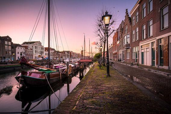 Delfshaven bij zonsopkomst van Prachtig Rotterdam