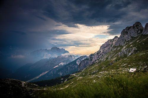 Slovenië Predelu mountains van