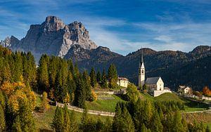 Uitzicht op Monte Pelmo, Dolomieten