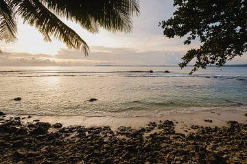 Sonnenuntergangs-Strand Mentawai 2 von Andy Troy