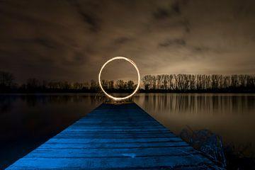 Lichtschilderen aan het meer van Sven Frech