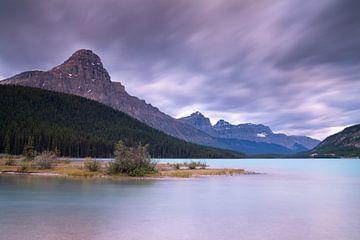 Waterfowl Lakes, Banff National Park, Icefields Parkway, Alberta, Kanada von Alexander Ludwig