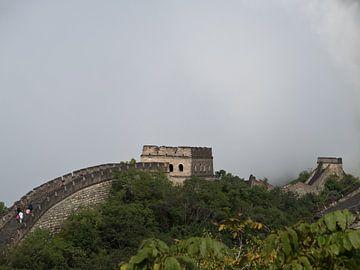 Große Mauer in den Wolken von Simone Meijer