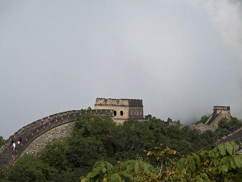 Große Mauer in den Wolken