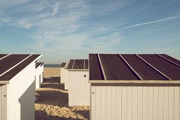 Strandcabines in Oostende