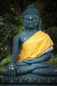 hindoeistische afbeelding op tegels van Karel Ham