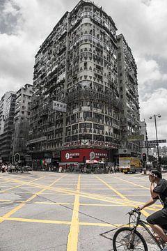 Hongkong Streetview van Roland de Zeeuw fotografie