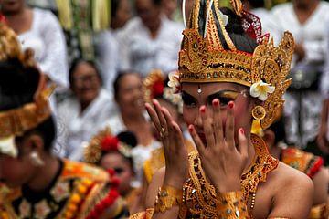 Balinese danseres, Canggu, Indonesië van Brenda Reimers