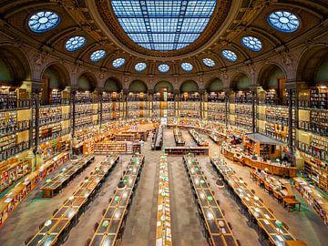 Nationale Bibliotheek van Frankrijk in Parijs van Michael Abid