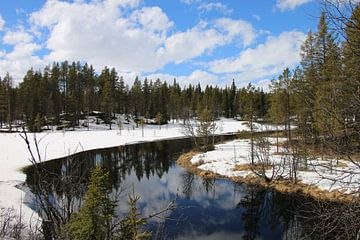 Paysage norvégien Norvège sur