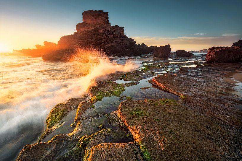 Goldig und wild (Praia de Castelejo / Algarve) von Dirk Wiemer