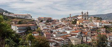 Historisch centrum van kolonie stad Ouro Preto, Brazilië van
