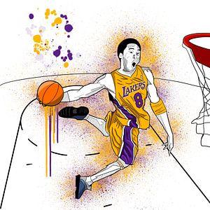 Art Sketch Kobe Bryant