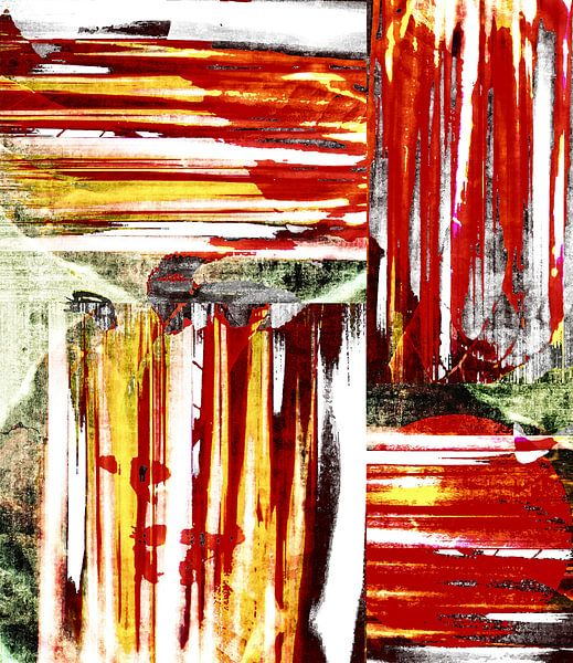 Hidden Face van Wil van der Velde/ Digital Art