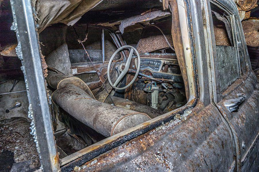 Oude auto's  van Henk Smit