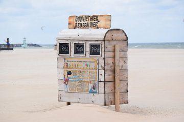 Strand von Scheveningen (Recycling) von Sync-In Steph