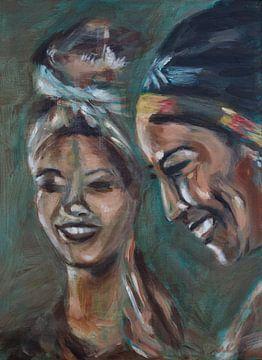 African joy van Mieke Daenen