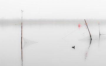 Stillleben auf dem Veerse Meer von Jacqueline Lodder