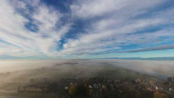 Jisp en Wormer in de Mist van Rick Sjoerds