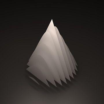 Geometrisch lichaam: Kegel van Jörg Hausmann