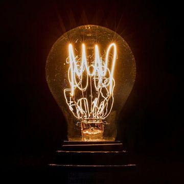 altmodische Glühbirne von Klaartje Majoor