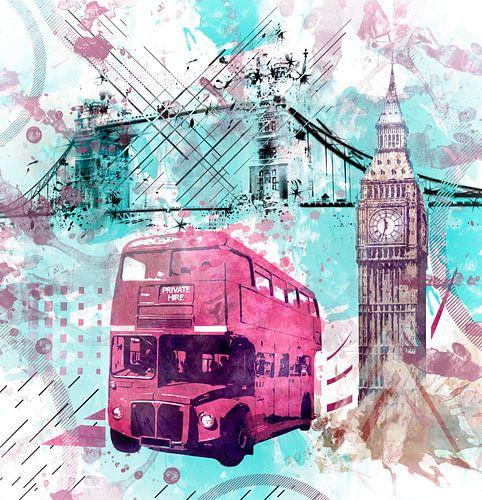 Digital-Art LONDON COMPOSING