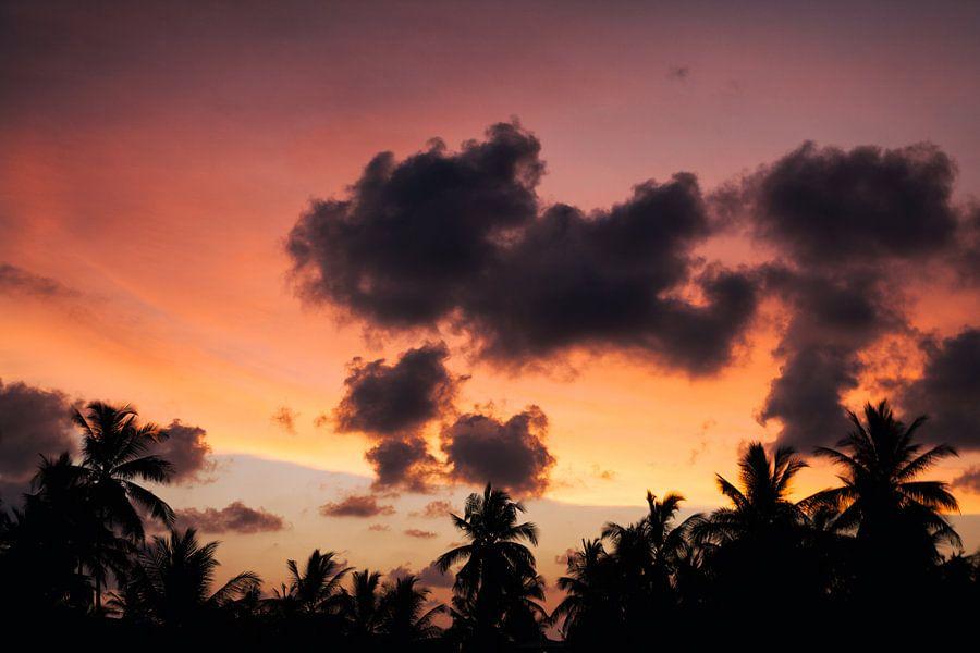 Unawatuna Sunset van Insolitus Fotografie