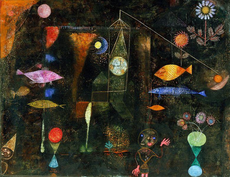 Paul Klee.Fischzauber von 1000 Schilderijen