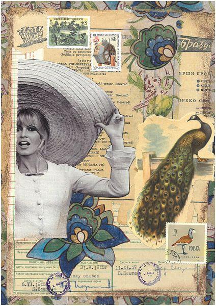 Brigitte Bardot: All Around My Hat van click4 collage