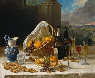 Mittagessen-Stillleben, John F. Francis