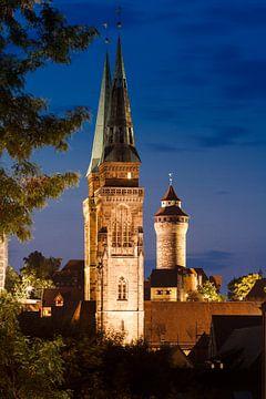 Nürnberg bei Nacht von Jan Schuler
