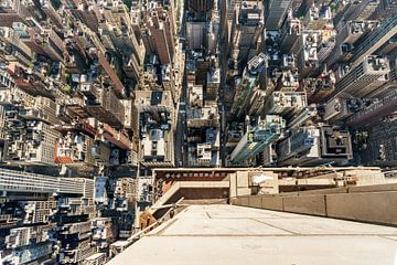 Blick vom Empire State Building New York van Kurt Krause