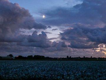 Hollandse avondlucht von Dionne Houter-Pool