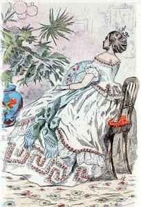 Mode 1862, ode in het negentiende-eeuwse Parijs, Henri Boutet, (1851 1919)