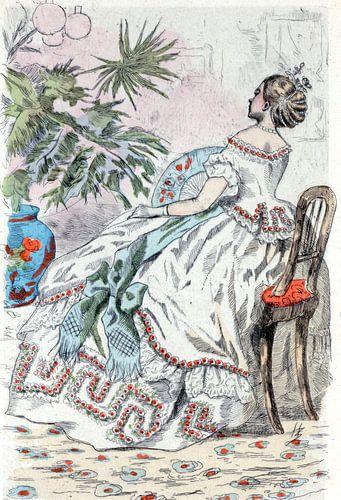 Mode 1862, ode in het negentiende-eeuwse Parijs, Henri Boutet, (1851 1919) van